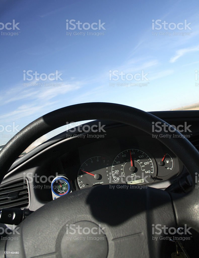 Car view royalty-free stock photo