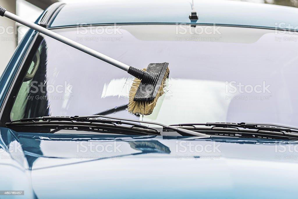 Car wash royalty-free stock photo