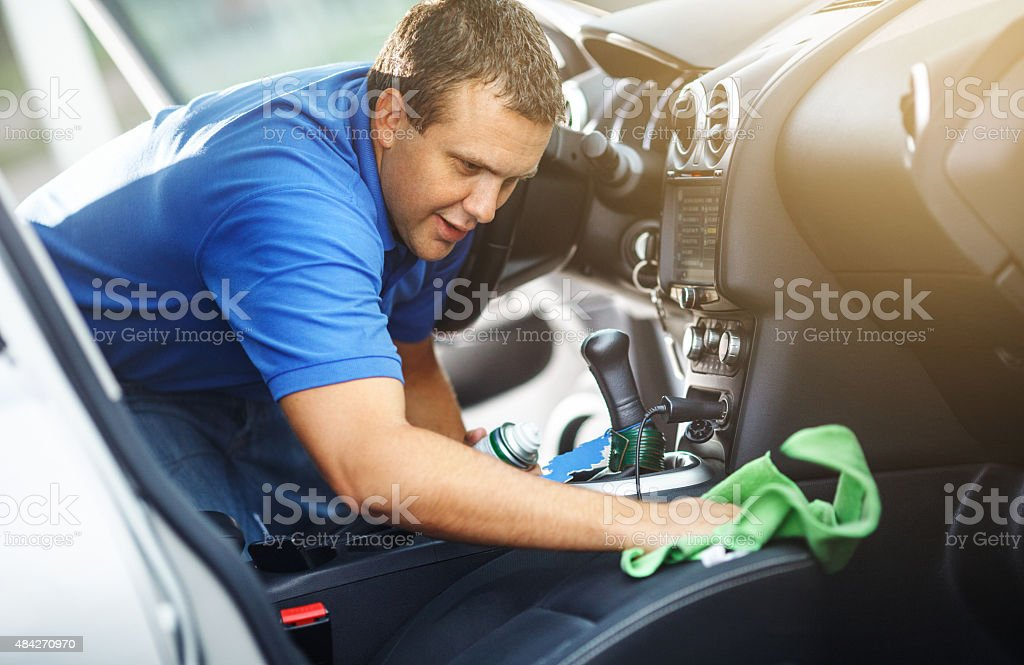 Car wash. stock photo