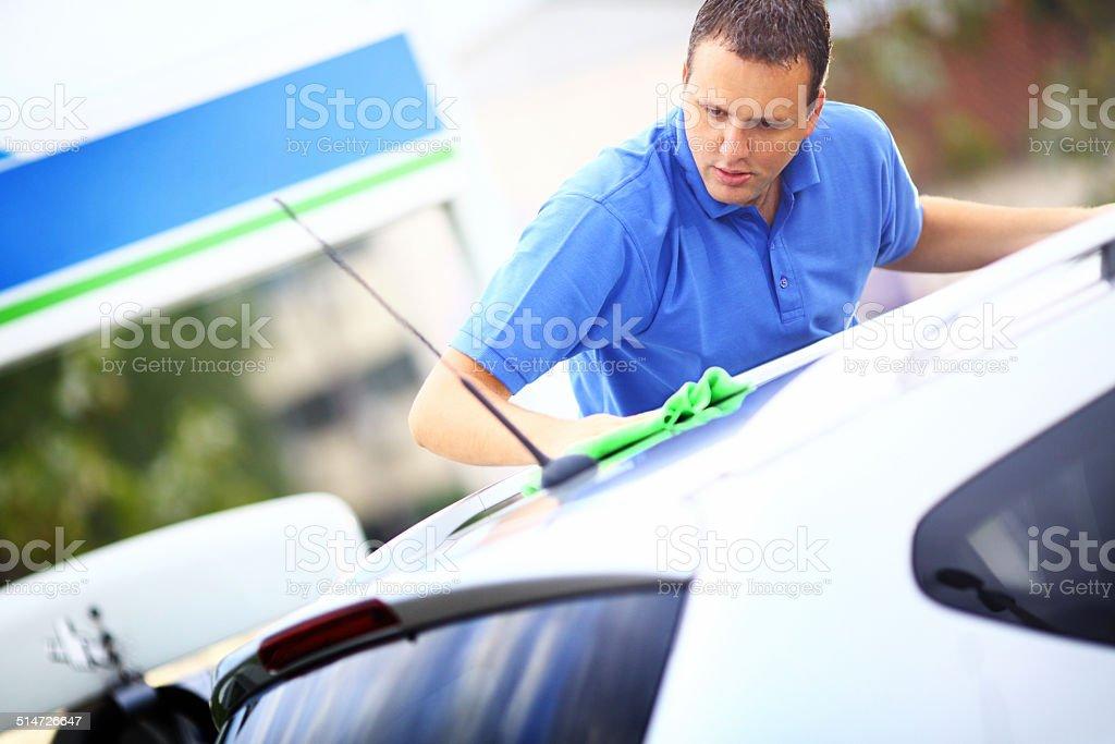 Car wash. stock photo