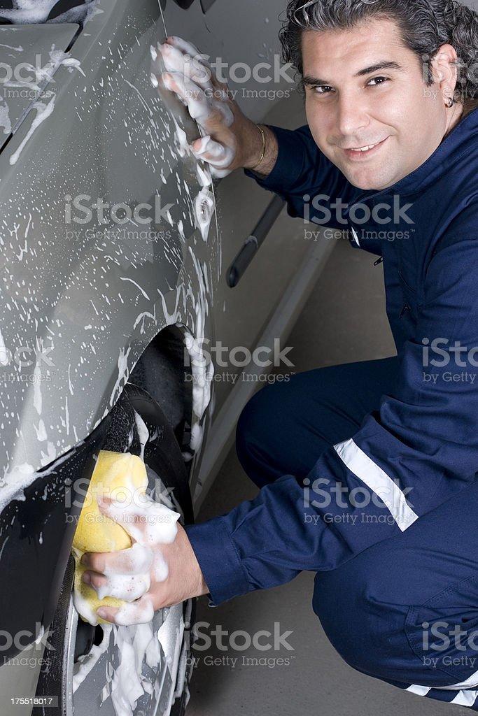 Car Wash Sponge royalty-free stock photo