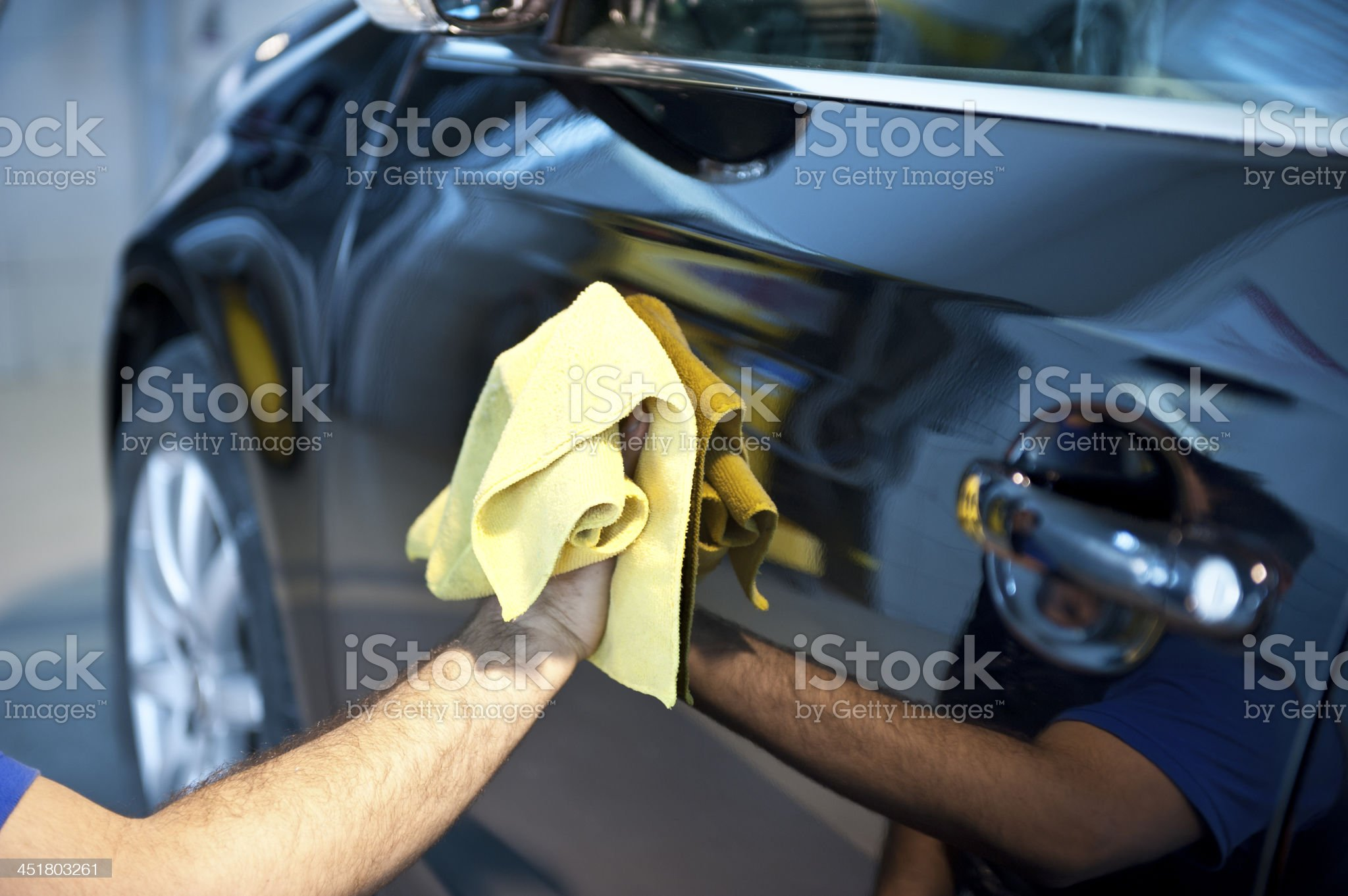car washing royalty-free stock photo