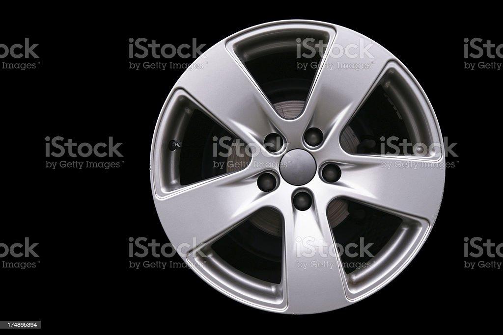 Car wheel  (XL) royalty-free stock photo