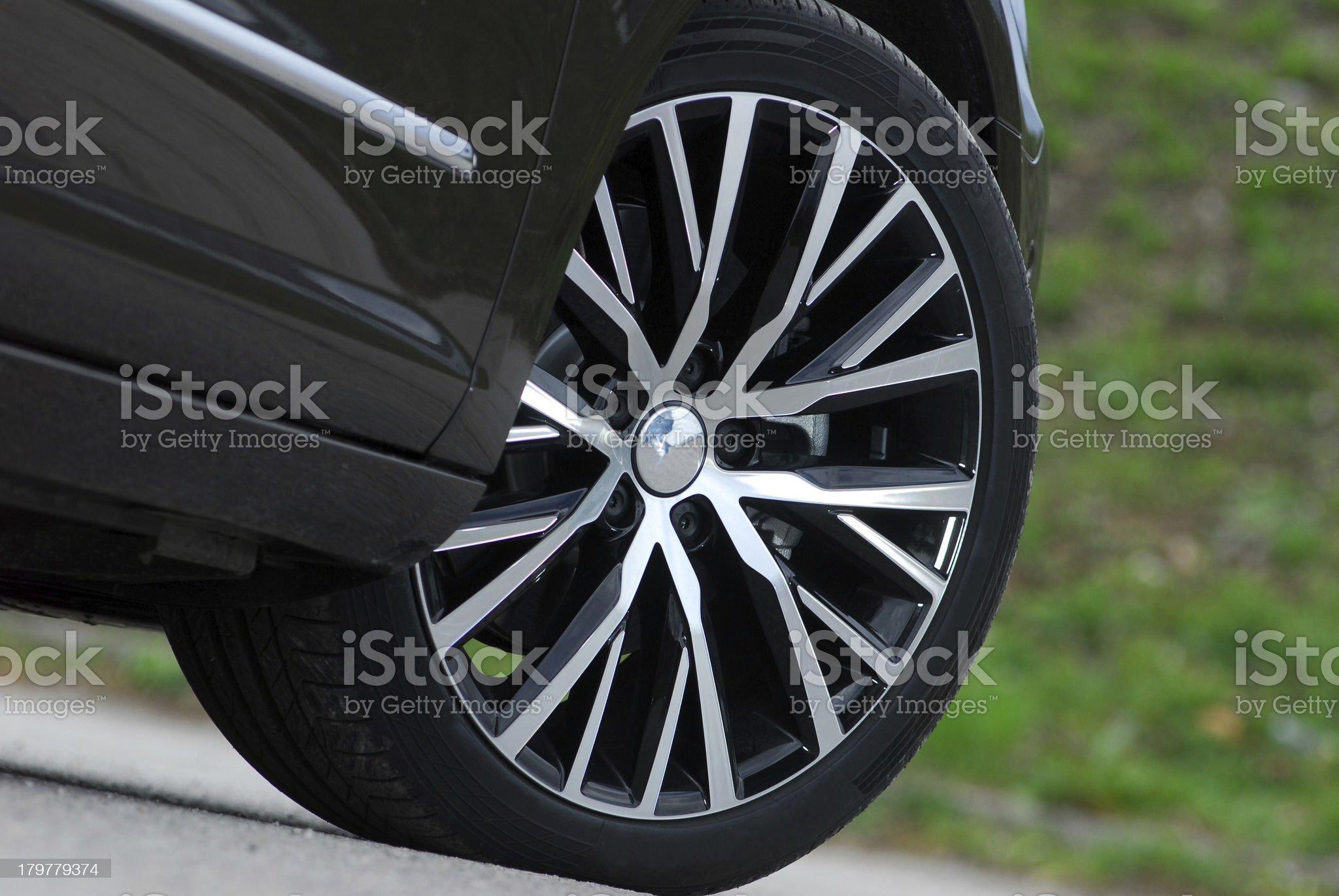 car wheel royalty-free stock photo