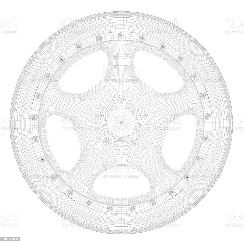 Car wheel stock photo 183776696 istock blueprint circle document metal plan car wheel malvernweather Choice Image