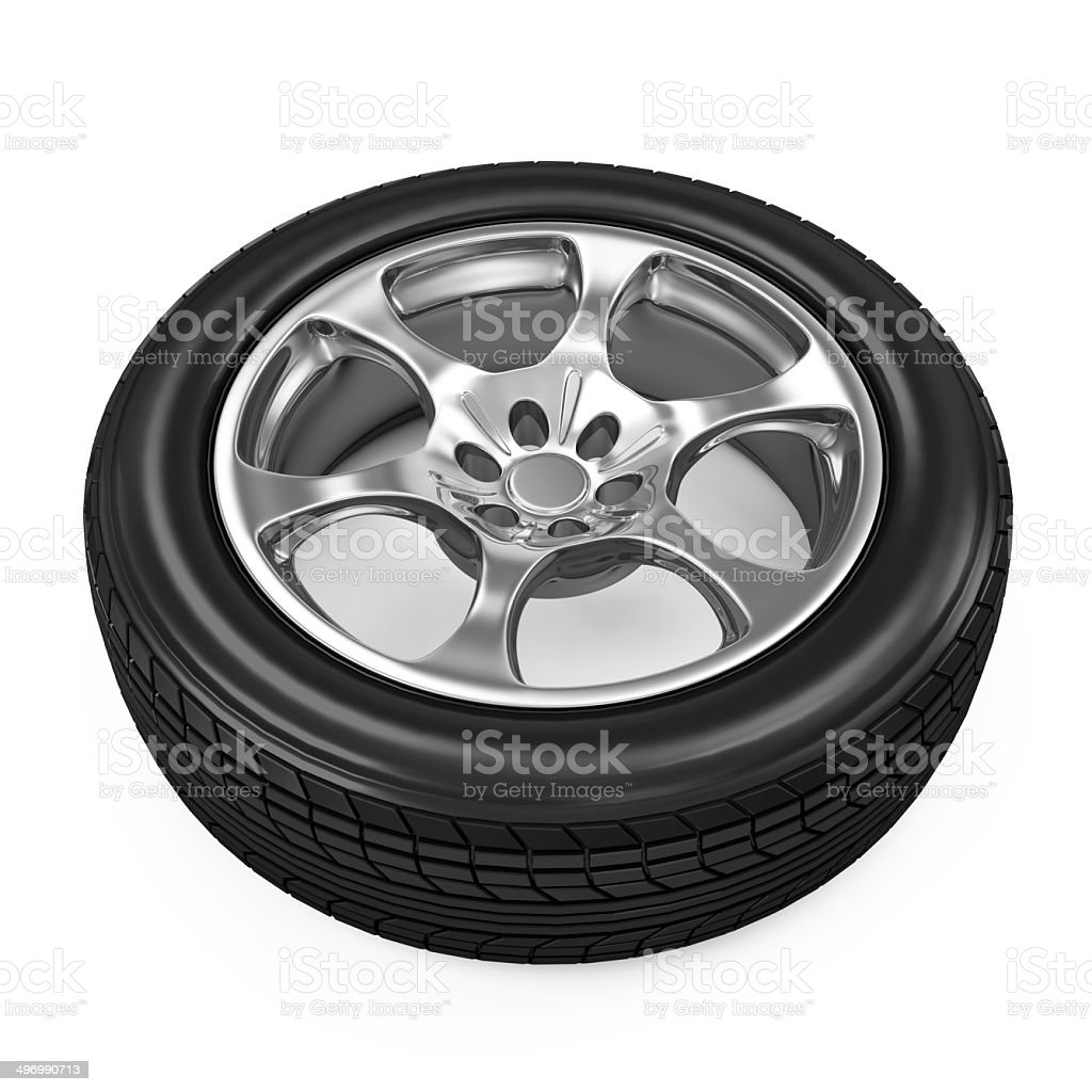 Car Wheel royalty-free stock photo