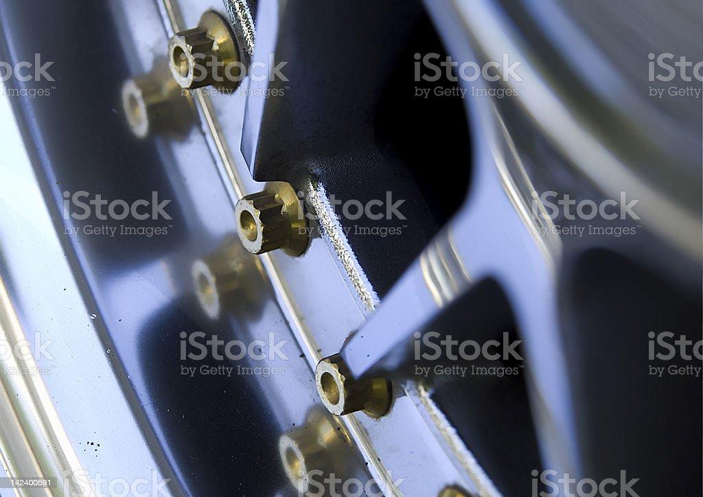 Car wheel rim stock photo