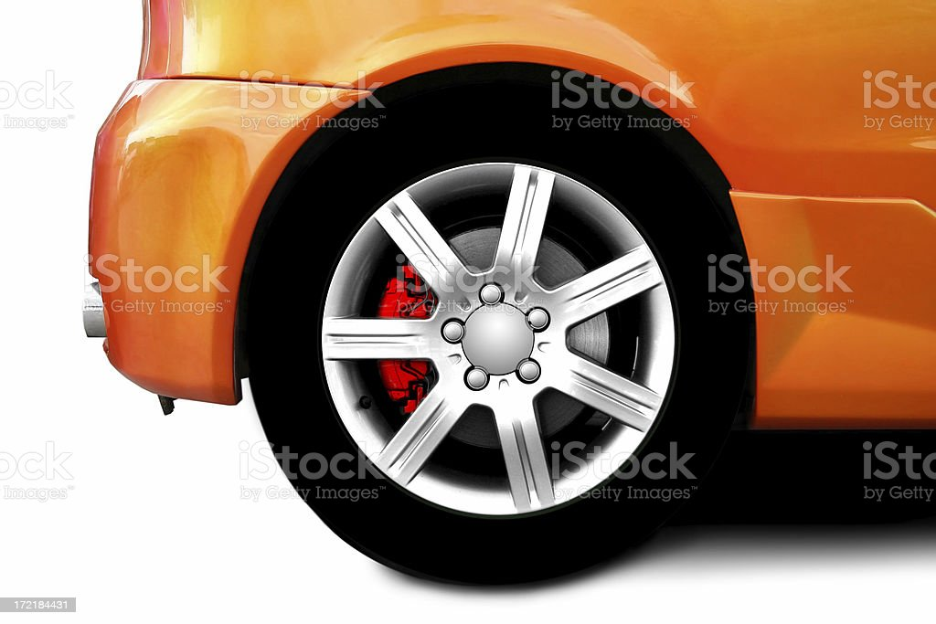 Car Wheels royalty-free stock photo