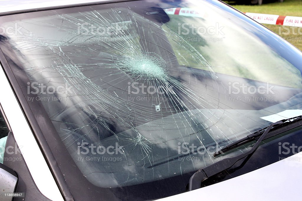 Car Windscreen royalty-free stock photo