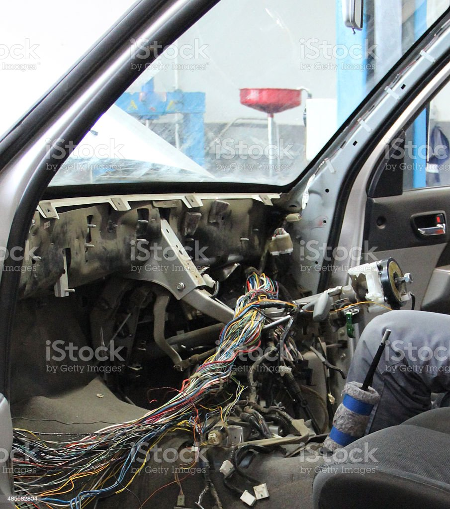 Car work stock photo