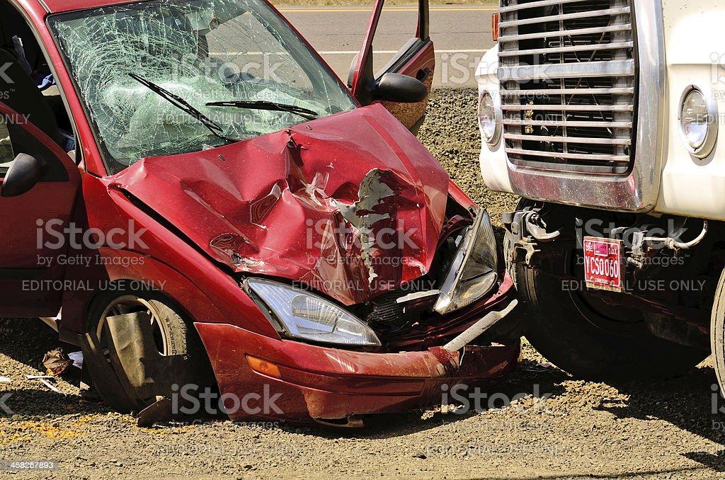 Car Wreck stock photo