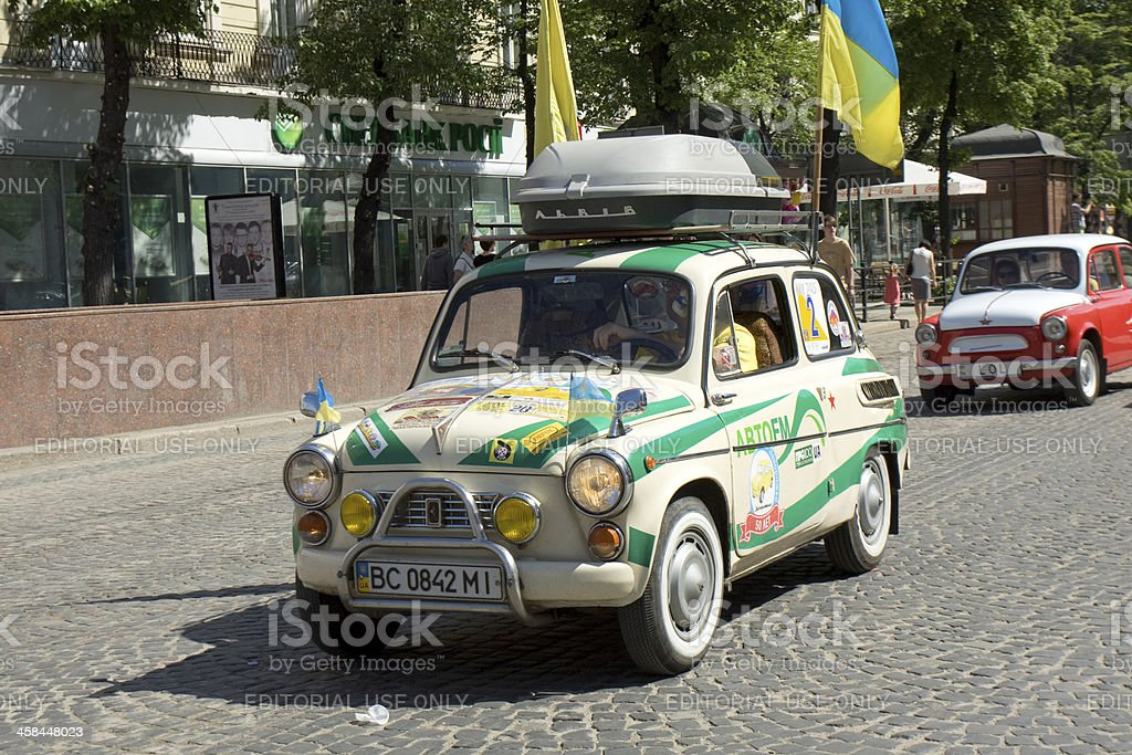 Car Zaporozhets royalty-free stock photo