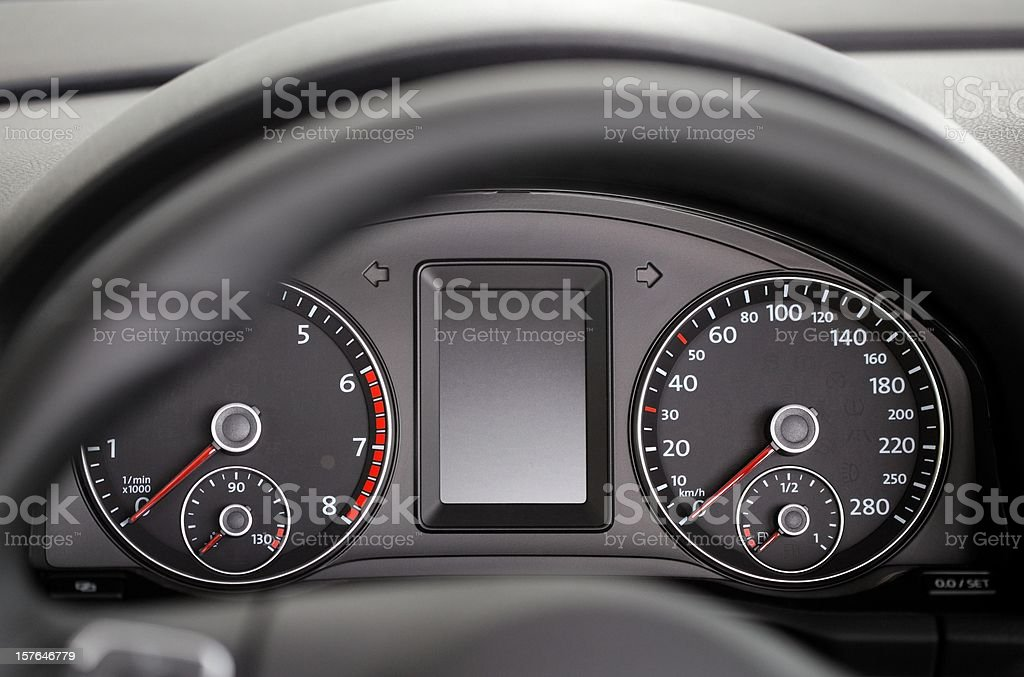 car_cockpit royalty-free stock photo
