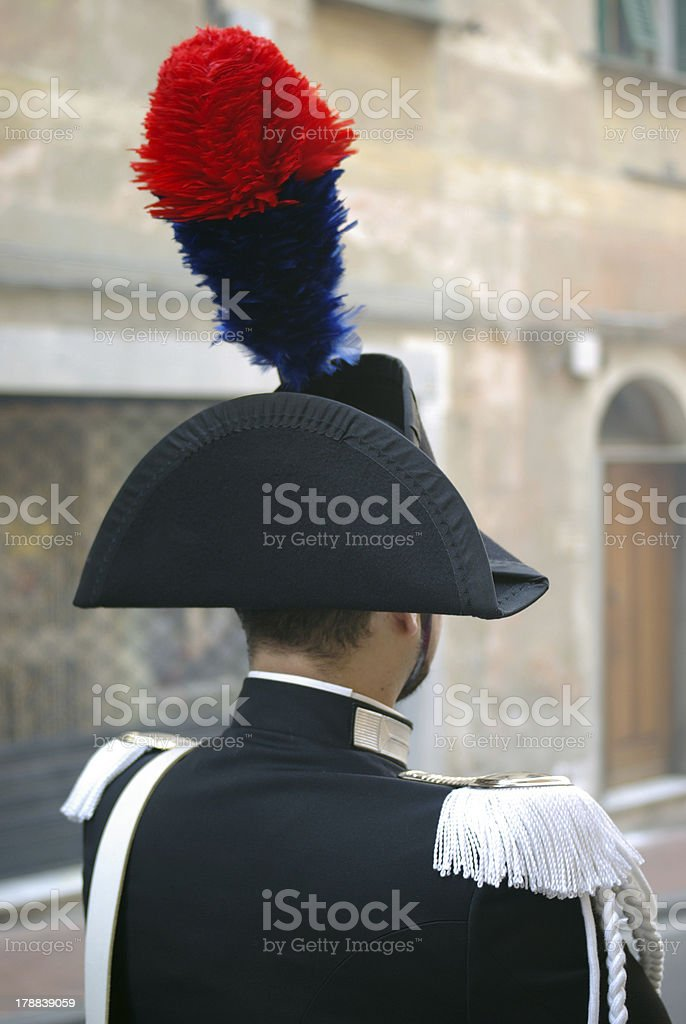 Carabiniere royalty-free stock photo
