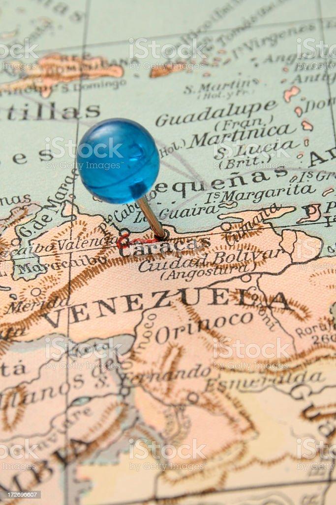 Caracas royalty-free stock photo
