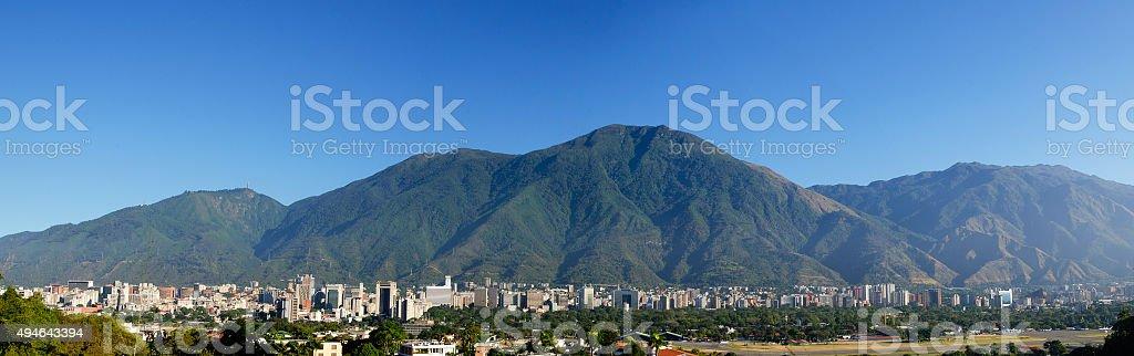 Caracas y El Ávila stock photo