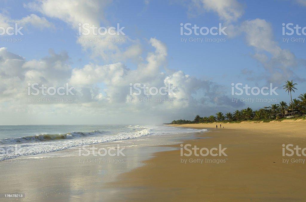 Caraiva beach, Porto Seguro, Bahia, Brazil stock photo