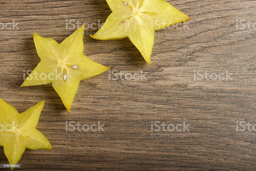 Carambola - starfruit stock photo