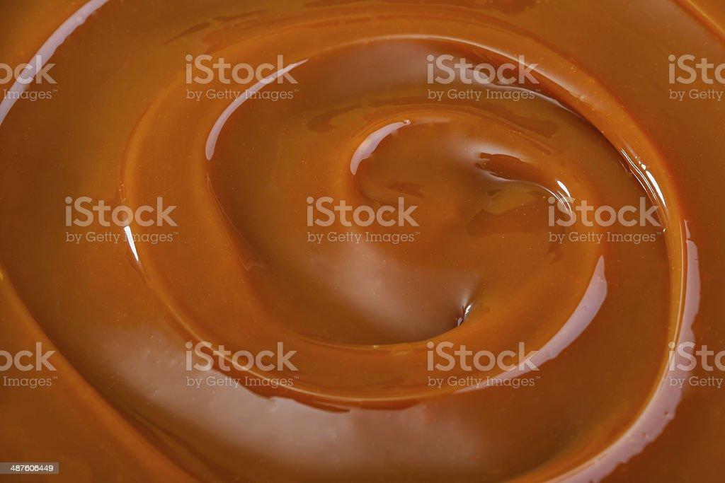 caramel stock photo
