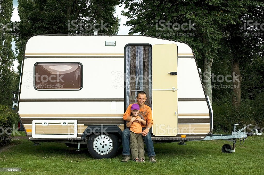 caravan royalty-free stock photo