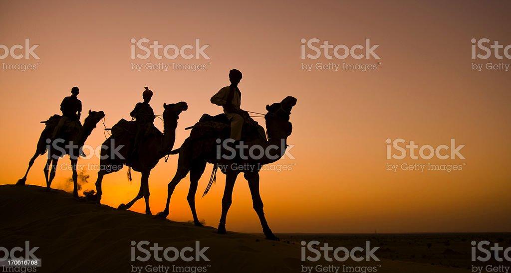 Caravan royalty-free stock photo