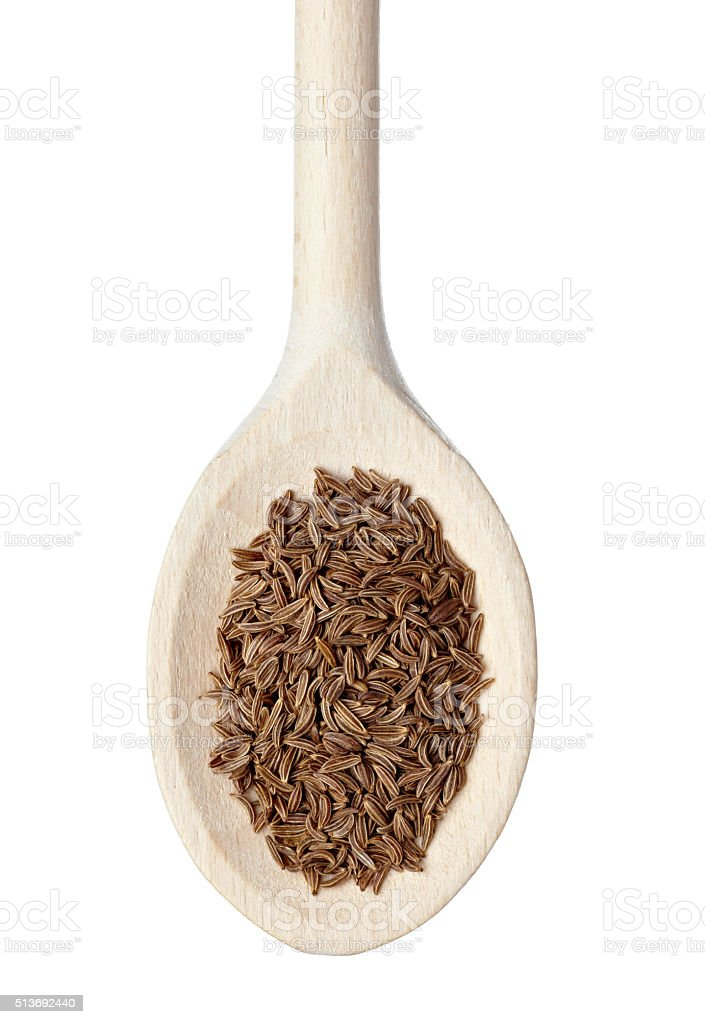 caraway seasoning food ingredient stock photo