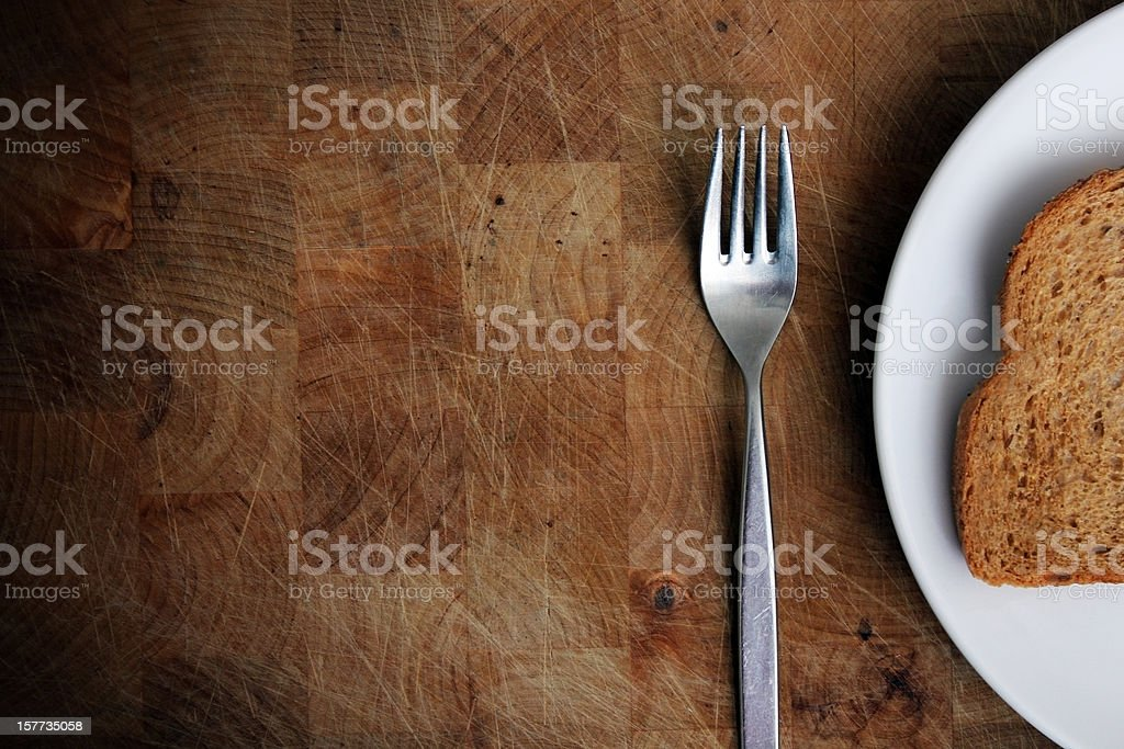 Carb-based meal - Eating wheat and gluten royalty-free stock photo