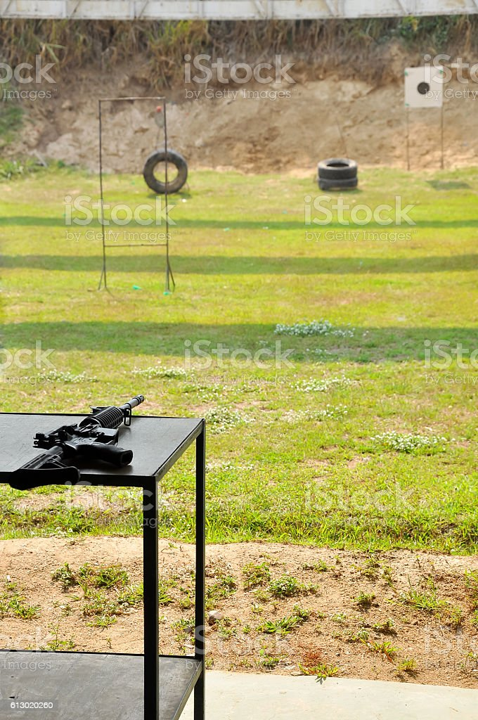 M4A1 carbine stock photo