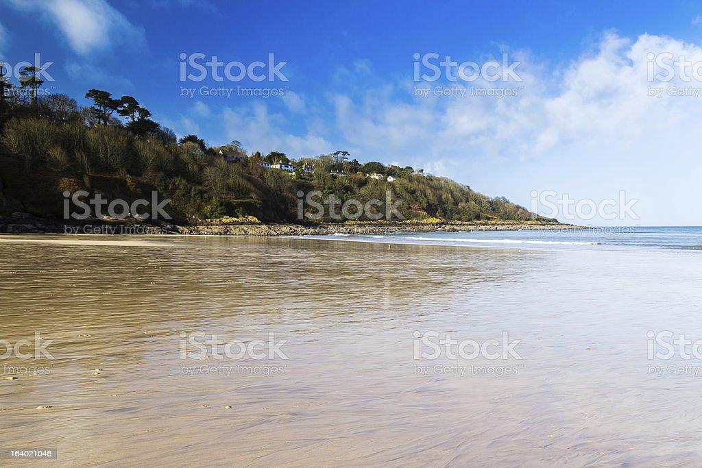 Carbis Bay Cornwall photo libre de droits