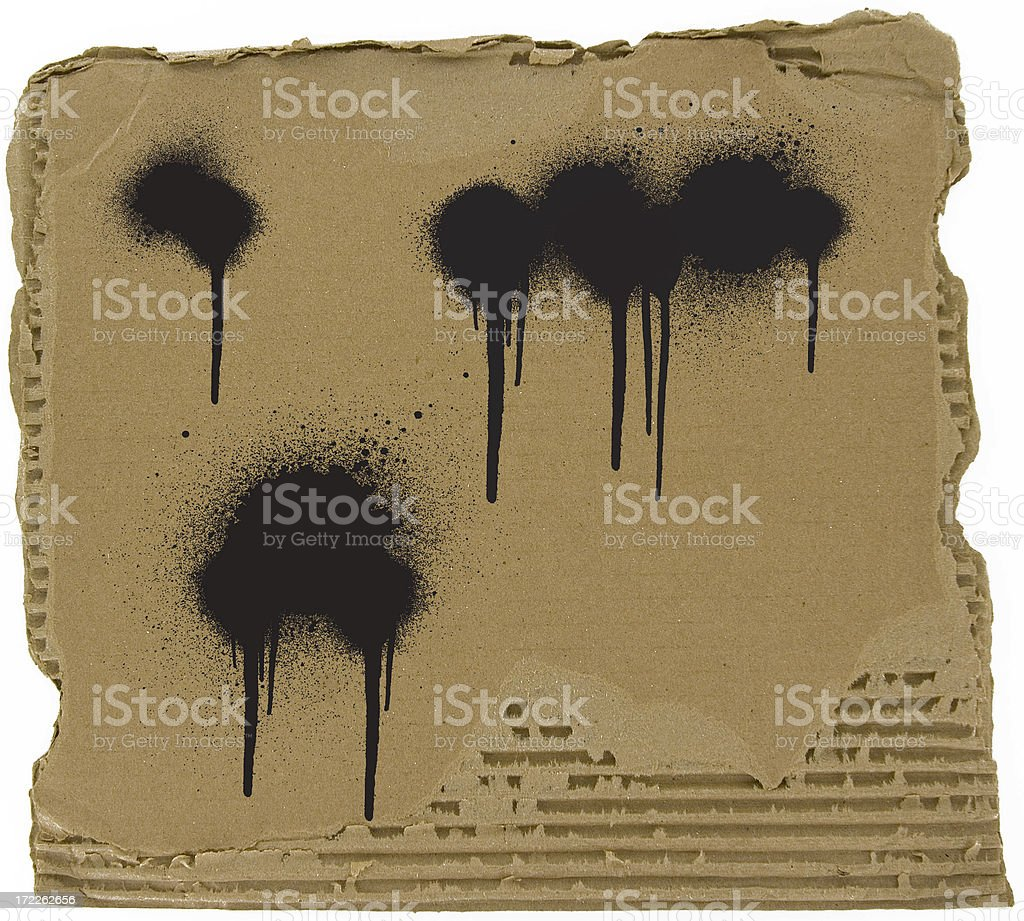 Carboard texture royalty-free stock photo
