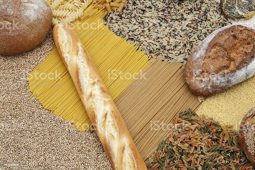 Carbohydrates royalty-free stock photo