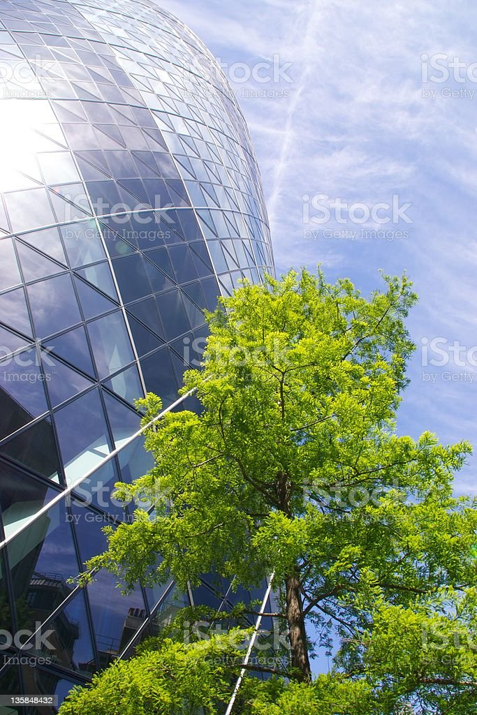 Carbon City of London, England royalty-free stock photo
