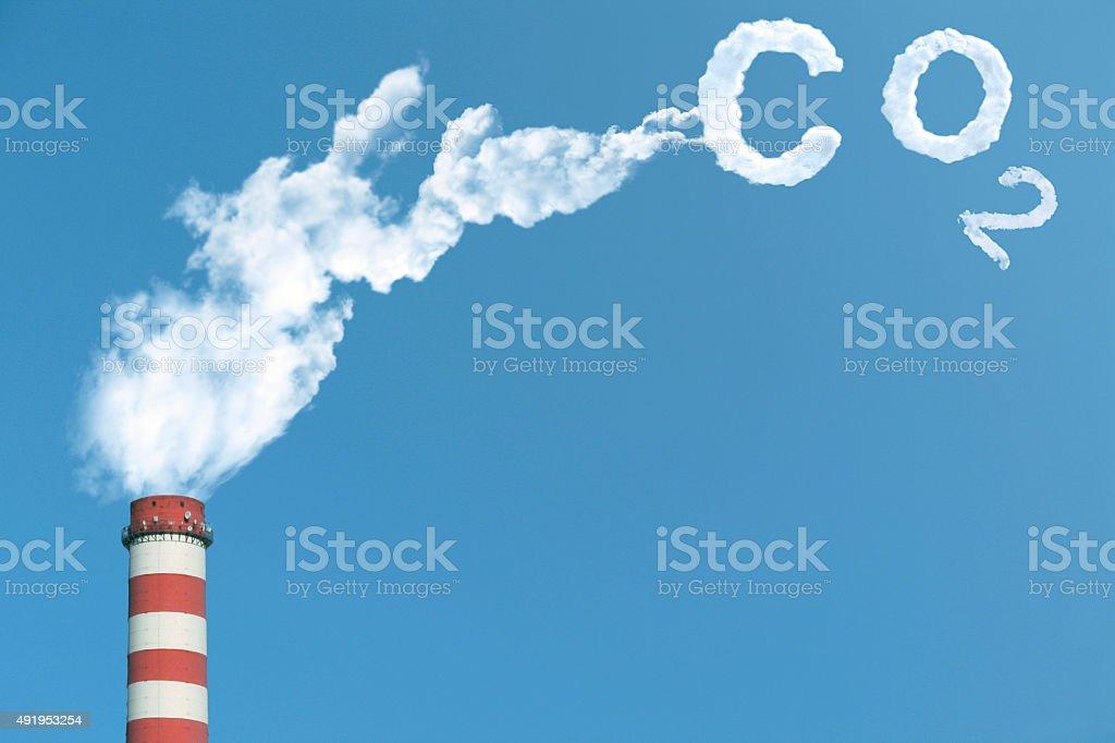Carbon Dioxide stock photo
