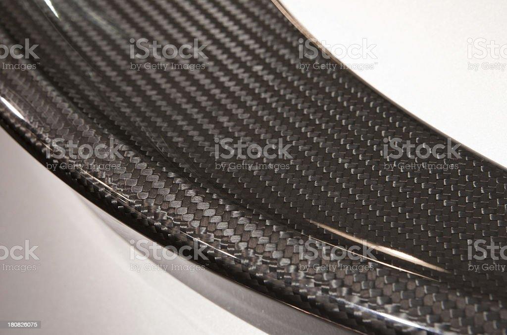 Carbon fiber detail stock photo