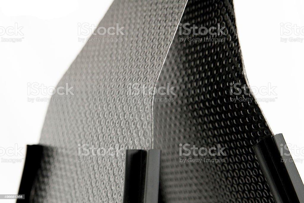 Carbon fins stock photo