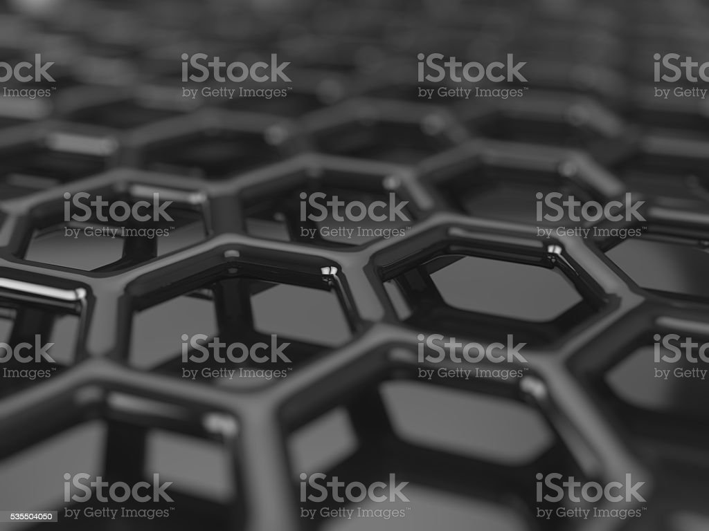 Carbon grid background stock photo