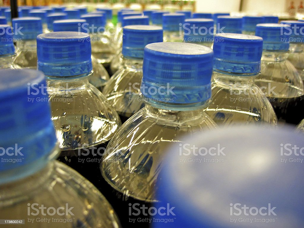 Carbonated Beverages royalty-free stock photo