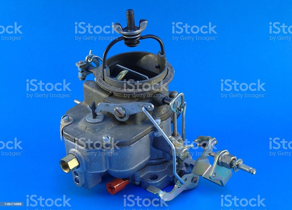 Carburator royalty-free stock photo