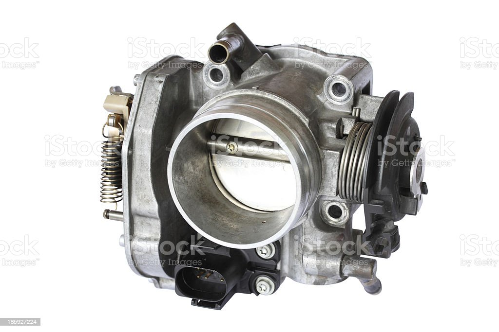 carburetor isolated on white background royalty-free stock photo