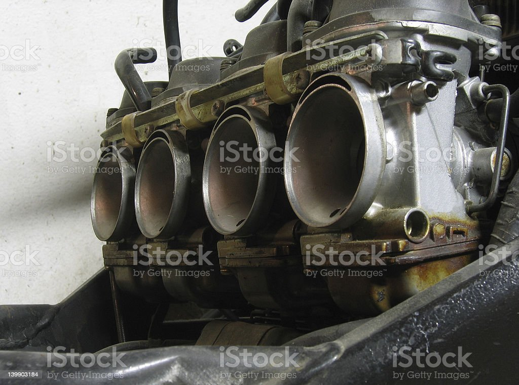 Carburetors royalty-free stock photo