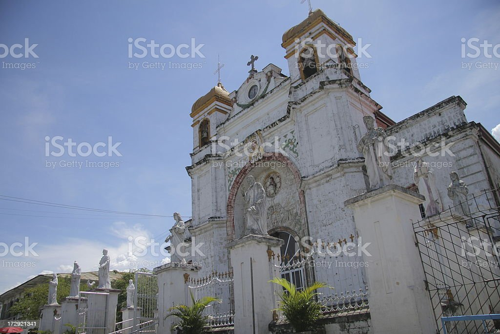 Carcar Church royalty-free stock photo