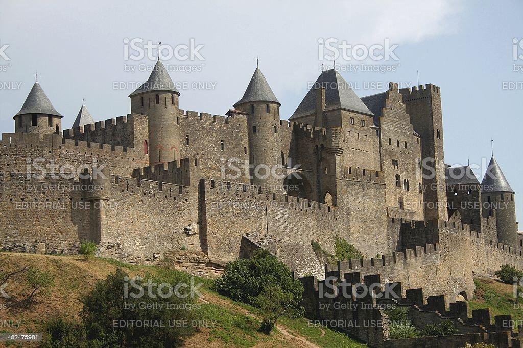 Carcassonne - La Cit?. France. stock photo