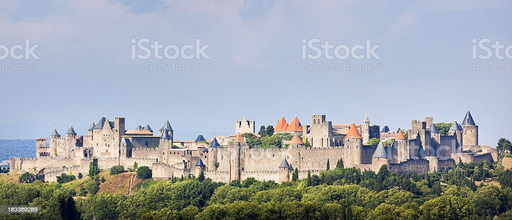Carcassonne royalty-free stock photo