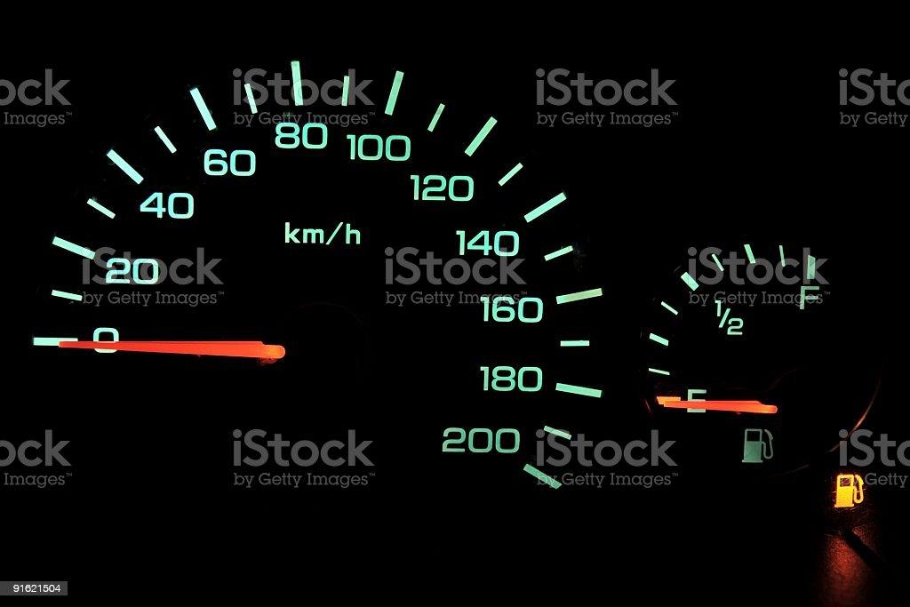 Car-Cockpit ll stock photo