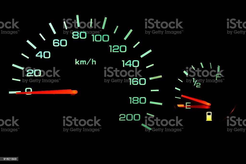 Car-Cockpit stock photo