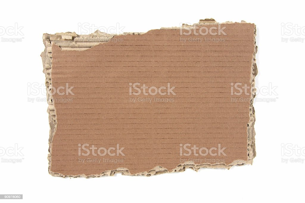 Card Board royalty-free stock photo