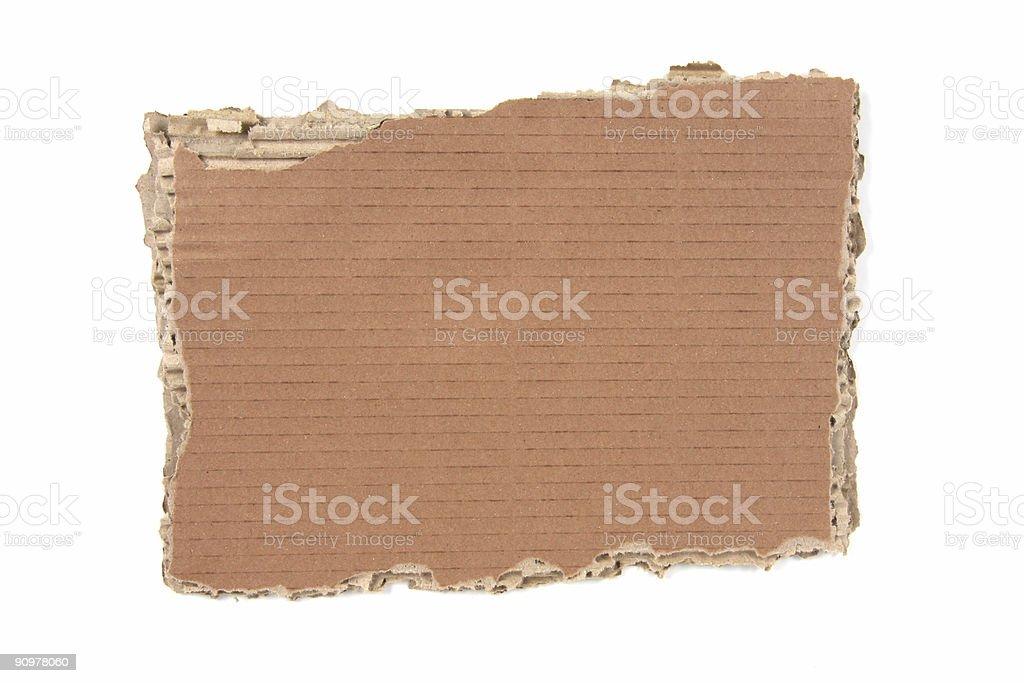 Card Board stock photo