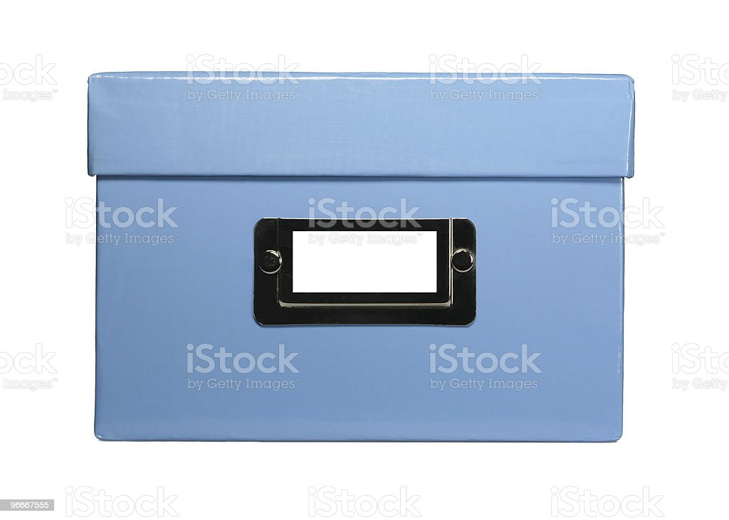 card box stock photo