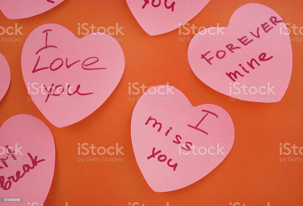 Card for valentine's day royalty-free stock photo