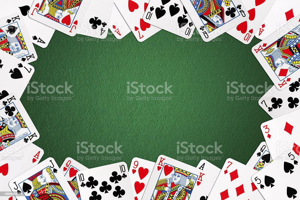 Card Frame royalty-free stock photo